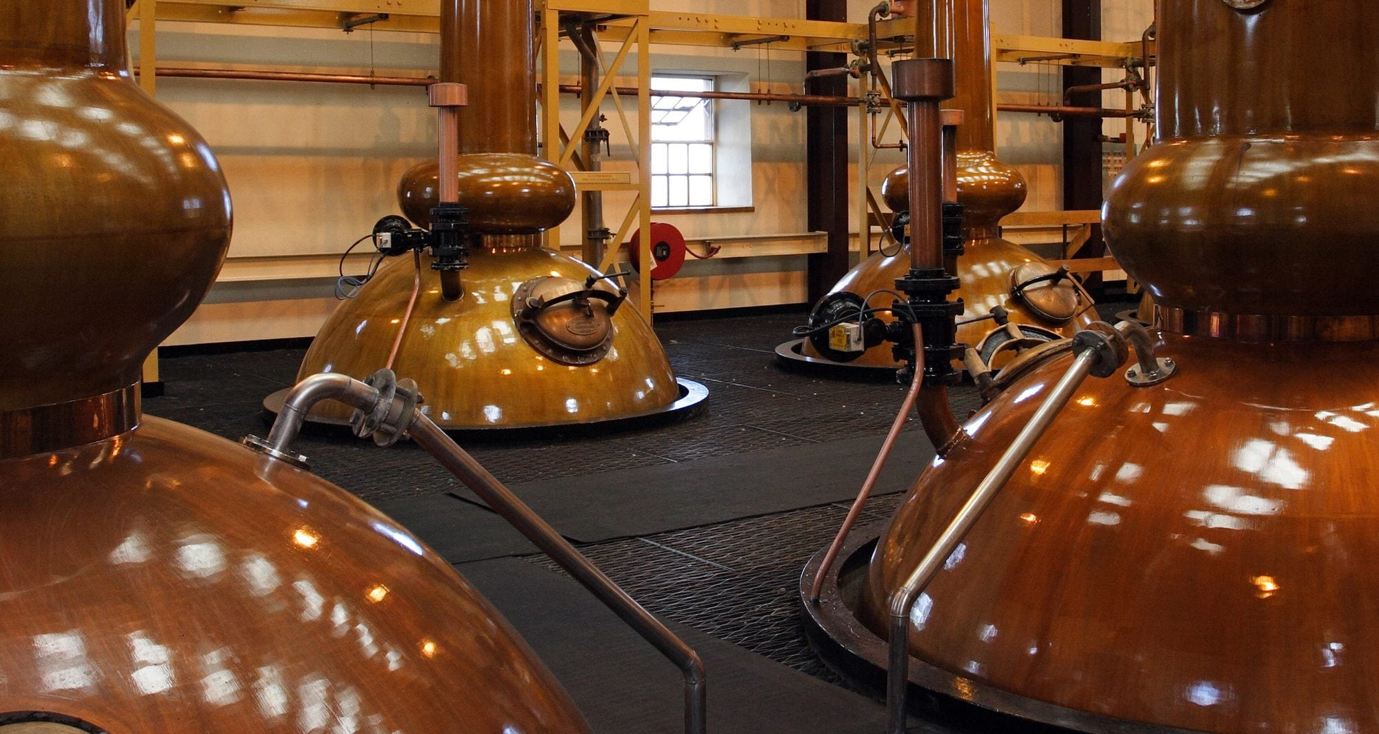 Brass whisky stills