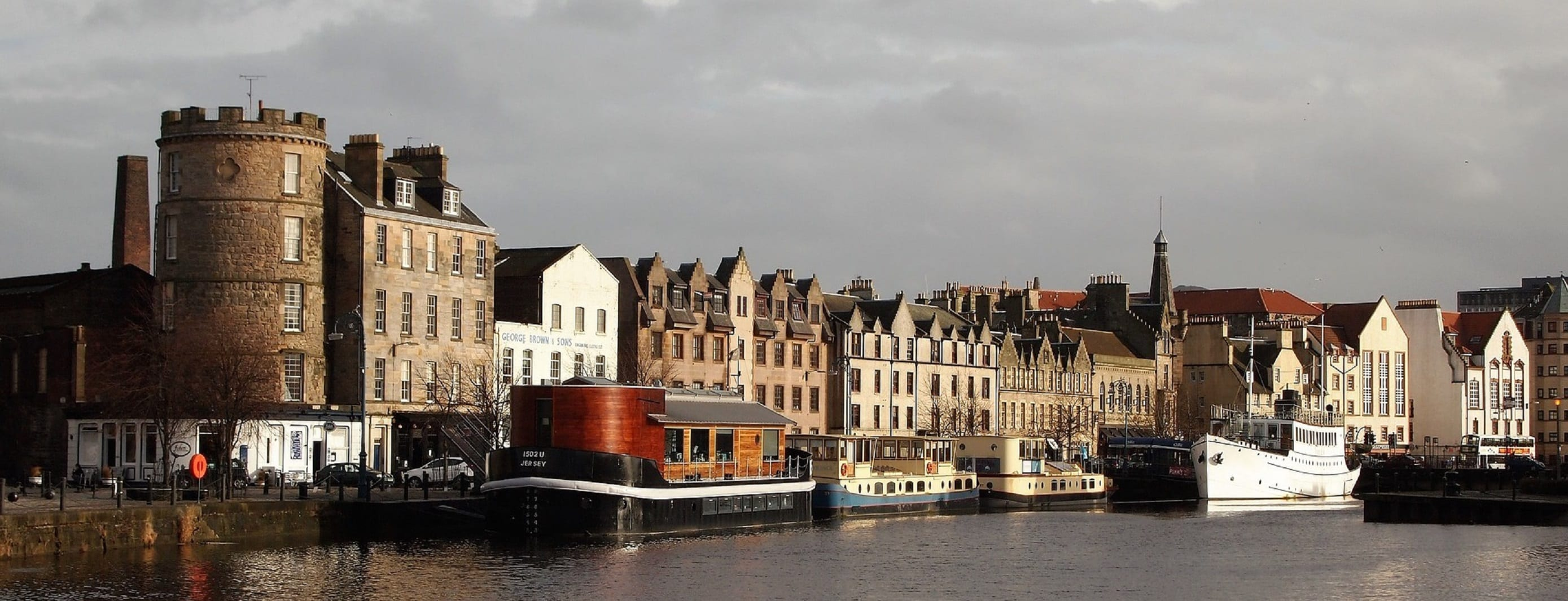 Buildings at The Shore, Leith